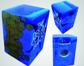 Rotulación caja flamenca