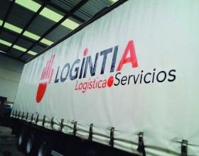 Flota de camiones Logintia