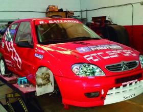 Rotulación coche competición RTCSPORT